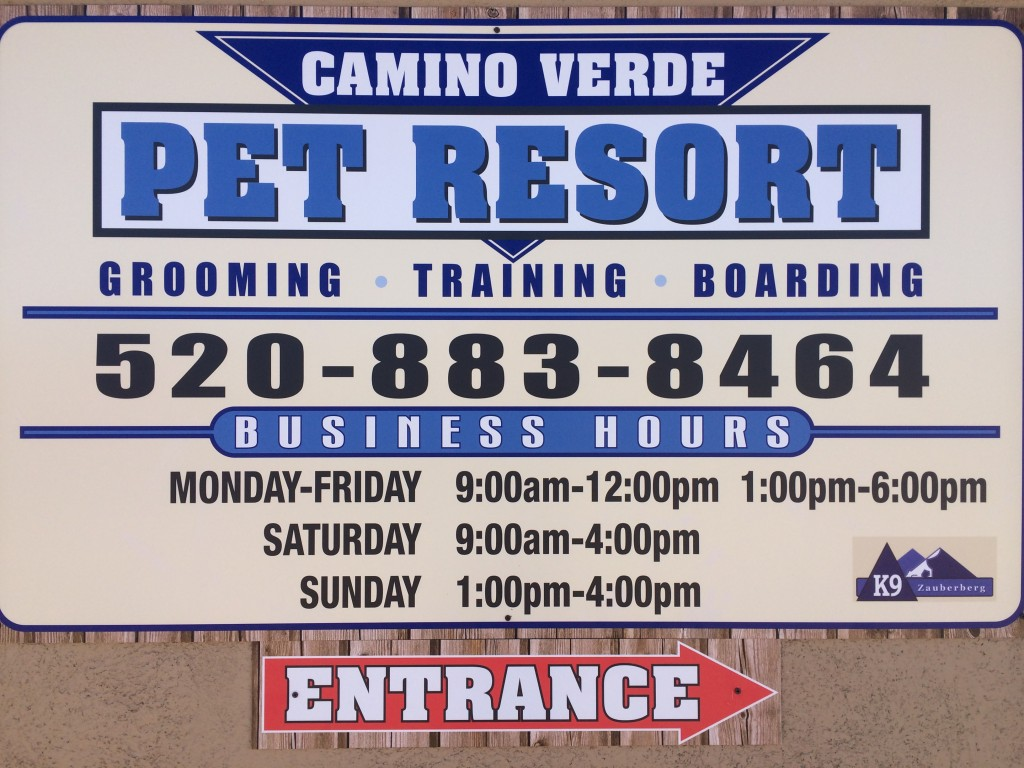 camino verde pet resort one time stop for all pets
